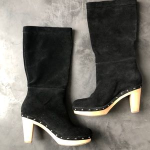 Suede Slouchy Banana Republic Boots